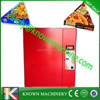 automatically refrigerate and heat hamburger / sandwich vending machines with monetary payment system