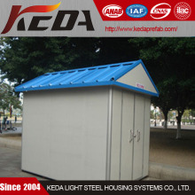 corrugated steel sandwich panel refuse room/junk room/garbage room