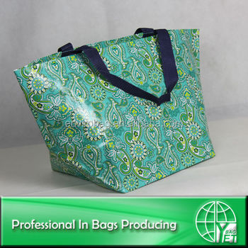 promotion pp woven large bag for ladies