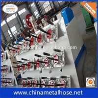 flexible metal hose wire winding machine