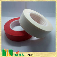 Low cost high quality Rubber Base Heat Resistant Masking Tape