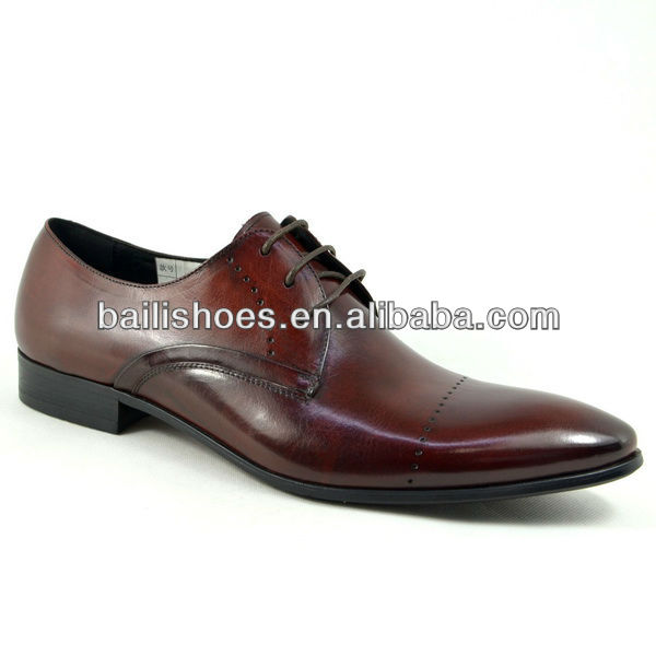 2013 chinese wholesale leather fashion man shoes