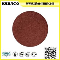 High Quality Sanding disc with PSA/VELCRO backed for metal finishing and woodworking
