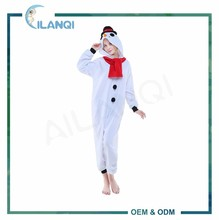 ALQ-A040 100% Polyester adult winter cosplay pyjamas onesie plus size