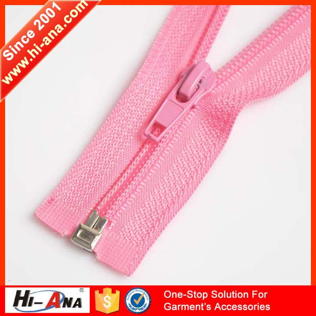 hi-ana zipper1 Rapid and efficient cooperation Your satisfied zipper manufacturer