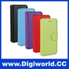 High Quality Oil Skin Texture Flip Genuine Leather Wallet Case with Card Slots for iPhone 6/ 6 Plus