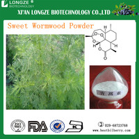 Chinese Standard Herbal Extract Artemisinin Plant Extract /Sweet Wormwood Herb Extract with artemisinin 98% to cure malaria
