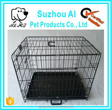 2 Door Pet Wire Dog Show Cage with Pan