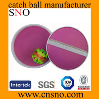Outdoor Sports Structures Plastic Catch Ball Suction cup Balls
