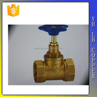 (2C-JELLY238) Brass Lockable Gate Valve for Water Meter Stock