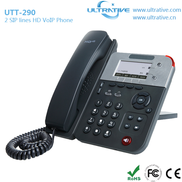 Multifunctional voip phone loud ringer with CE certificate