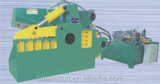 Crocodile hydraulic shear for cutting metal plate,pipe,bar