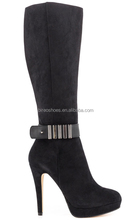 Wholesale women fashion medium heel boots(style no. WB1098)