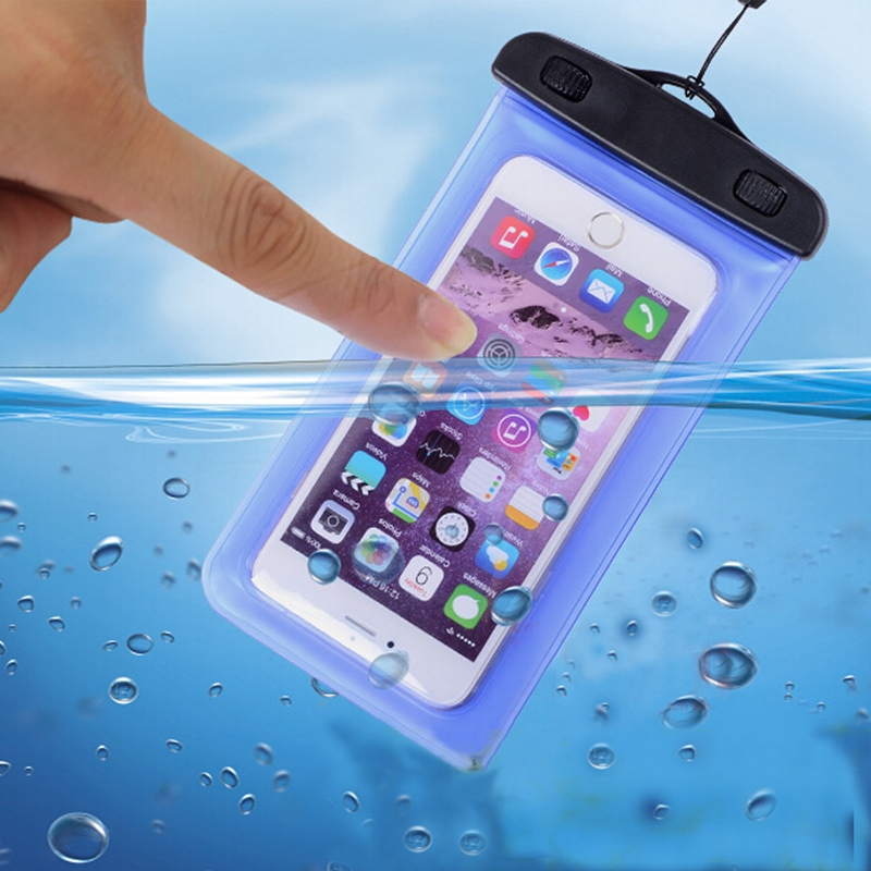 2017 Hot selling PVC water proof phone case mobile phone bag cell phone pouch with OEM for iphone7/7plus