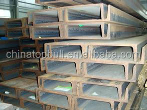 6-12m length,size 50-300mm , JIS standard SS400 material ,steel channel