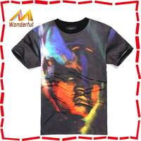 High quality super soft organic cotton t-shirt custom mens printed t-shirts online shopping for wholesale clothing