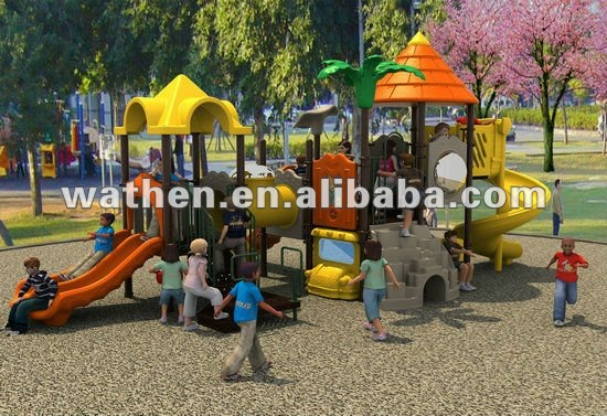 New Design wooden playground equipment plans