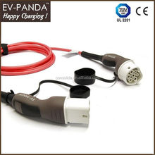 Designer hot-sale j1772 type1 to 62196 type2 ev charging cable