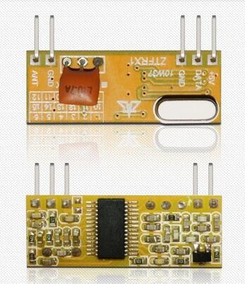 FSK ASK interference high speed wireless receiver module