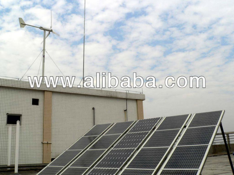 3KW solar-wind hybrid system, 2kw solar panel and 1kw wind turbine, Hybrid energy system for home