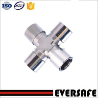 EQUAL FEMALE CROSS Pneumatic Pipe Fittings