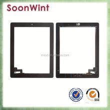 2016 new touch screen assembly, spare parts lcd screen for ipad air lcd touch screen repair part for ipad 2
