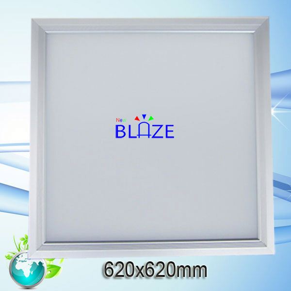 no flicker recessed spring clip mounted 620*620 square office lighting 620x620 led panel light dimmable