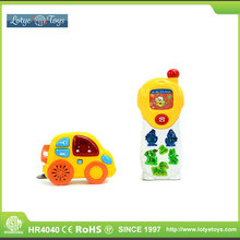 Funny animal musical baby phone toy