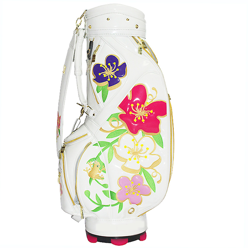 Custom Manufacturer Design PU Leather Waterproof Golf Bag Pu Leather Bag