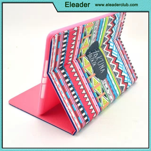 for ipad 6 flip leather case, book hot cover for ipad air 2