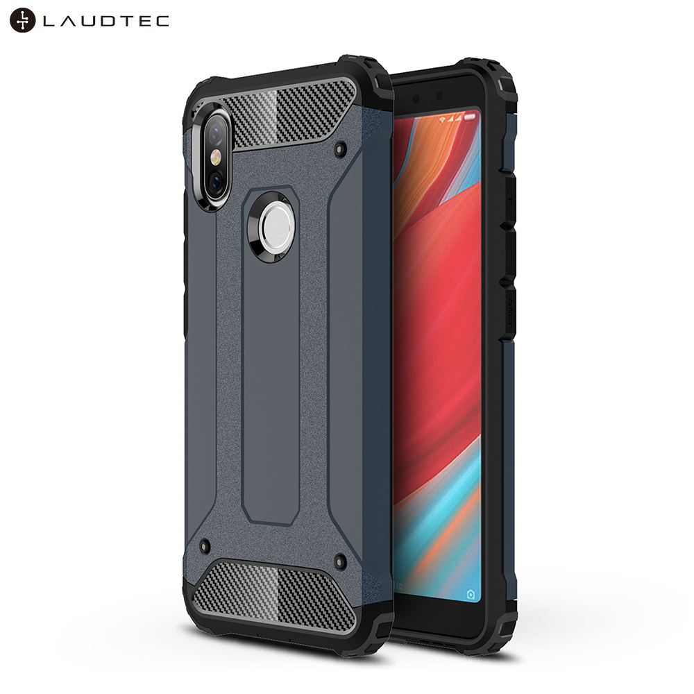 Laudtec Hybrid Shockproof PC Soft TPU Back Cover Case For Xiaomi Redmi S2 / <strong>Y2</strong>