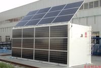 Outdoor Working Solar Panel Equipment Containerized Water Treatment Reverse Osmosis System