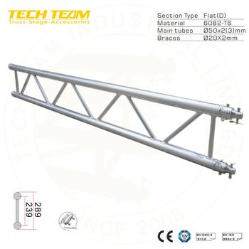 Aluminum Flat Lighting Truss and Ladder Truss
