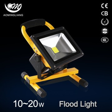 Rechargeable LED Flood Light 10W 20W Portable Lights Work Lighting Fishing Camping Flash Fixture