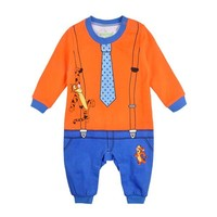 Christmas Gifts Baby rompers 2014 One-piece Costumes kids long sleeve spring autumn baby wear clothing set