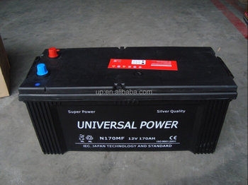 Maintenance Free auto battery DIN 12v150ah