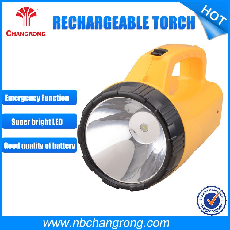 China Factory 3W Rechargeable led hand held search light