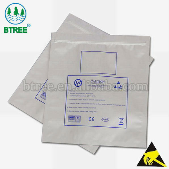 Btree Aluminum Foil Bag with Moisture-resistant and Shielding Function Made of PET/AL/CPE