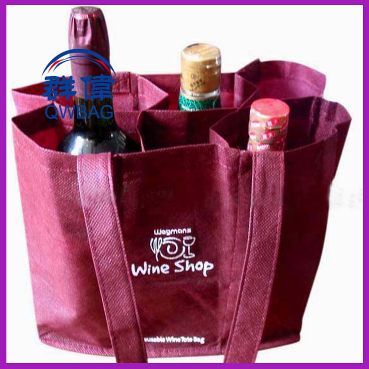 China Manufacturer Wholesale Cheap Price Custom Design Luxury wine Bottle bag
