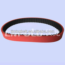 Red Coated Timing Belt