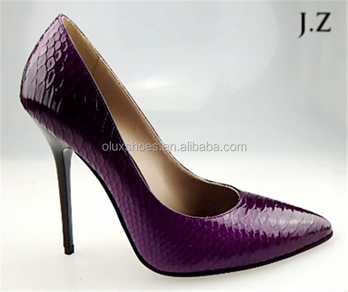 OP13 Style professional factory supplier satin high heel american ladies shoes