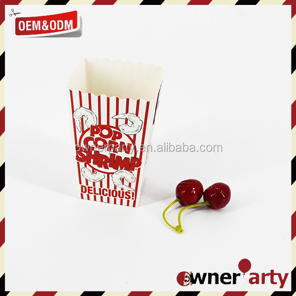 Hot-Selling Small Party Favors Popcorn Party Boxes