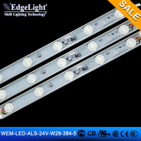 Edgelight High Power LED 384 width Waterproof alumium 5 pcs LED lamp led Strip