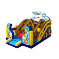 70915009 Unique design made by pvc inflatable bouncer with slide inflatable bouncer&combo for sale