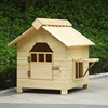 solid wood wooden teddy dog cage outdoor water proof pet dog house