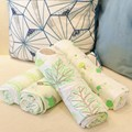 Organic high quality soft baby cotton blankets