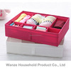 Multi compartment socks underwear storage box/Draw-out type underwear boxes