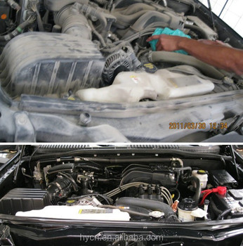 Car Engine Steam Cleaning