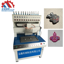 pvc silicon dispensing machine for logo and trade mark