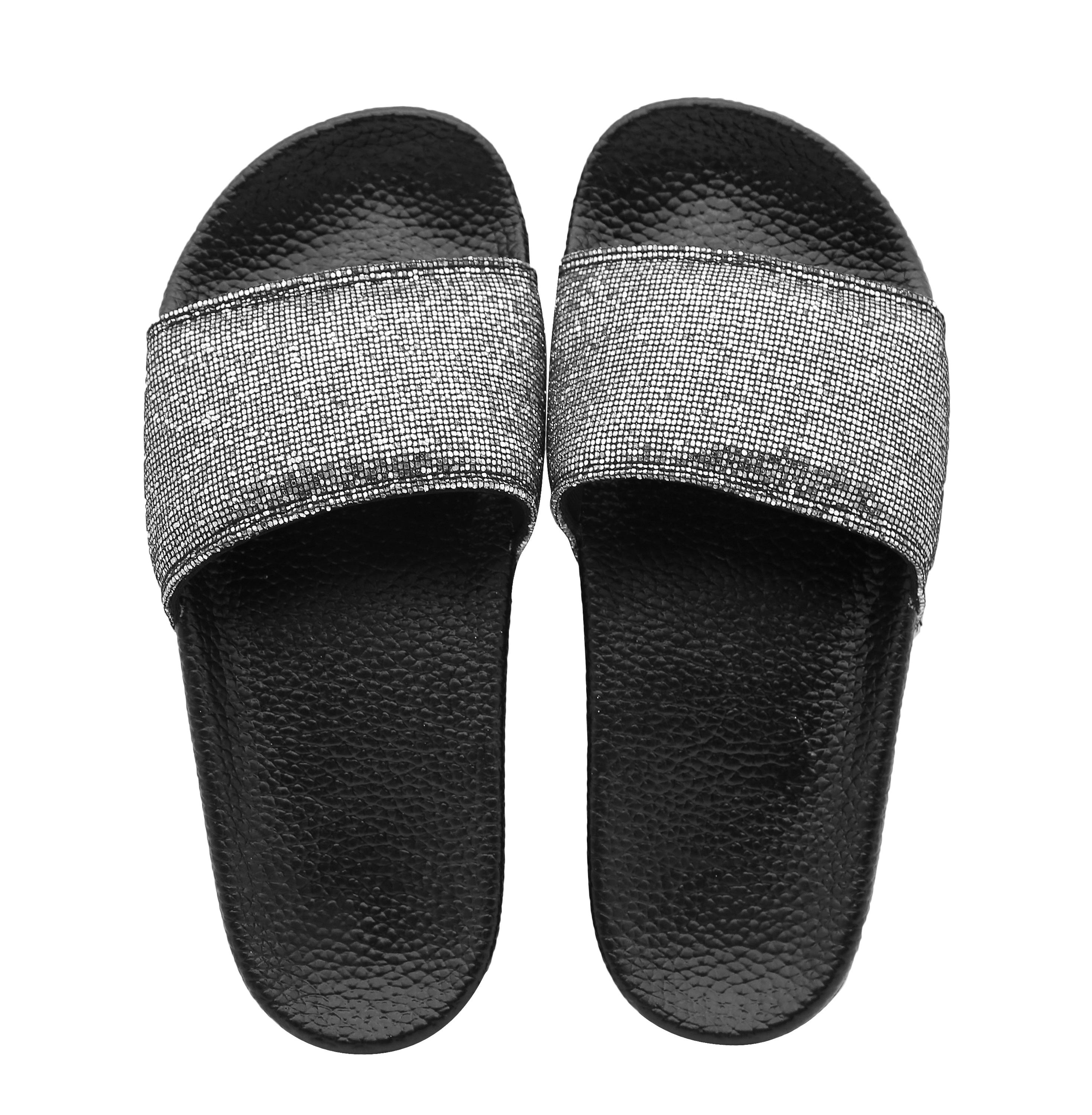 Wholesale hot women lining slide sandal